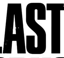 The Last of us Black Sticker
