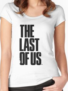 The Last of us Black Women's Fitted Scoop T-Shirt