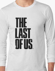 The Last of us Black Long Sleeve T-Shirt