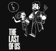 The Last of Us Joel Ellie and Giraffe by waghmare