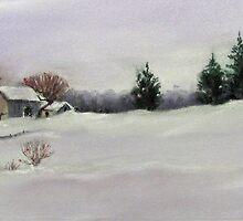 Winter's Blanket by bevmorgan
