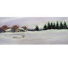 Winter's Blanket Photographic Print