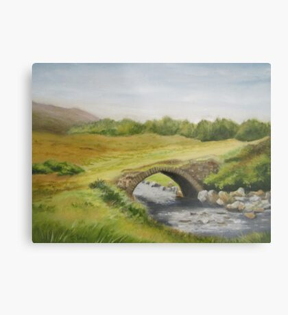 Bridge in Donegal Metal Print