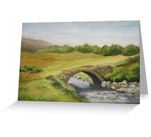 Bridge in Donegal Greeting Card