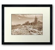 Eastern Side of Nassau, The Bahamas Framed Print