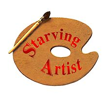 Just A Starving Artist by Vy Solomatenko