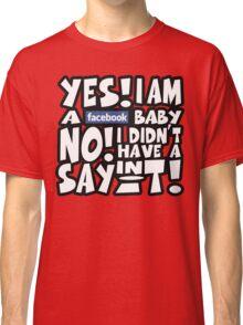 Facebook Baby Classic T-Shirt