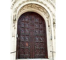 Rosary Cathedral doorway Photographic Print