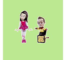 Stop Motion Christmas - Jeff/Annie (Style A) Photographic Print