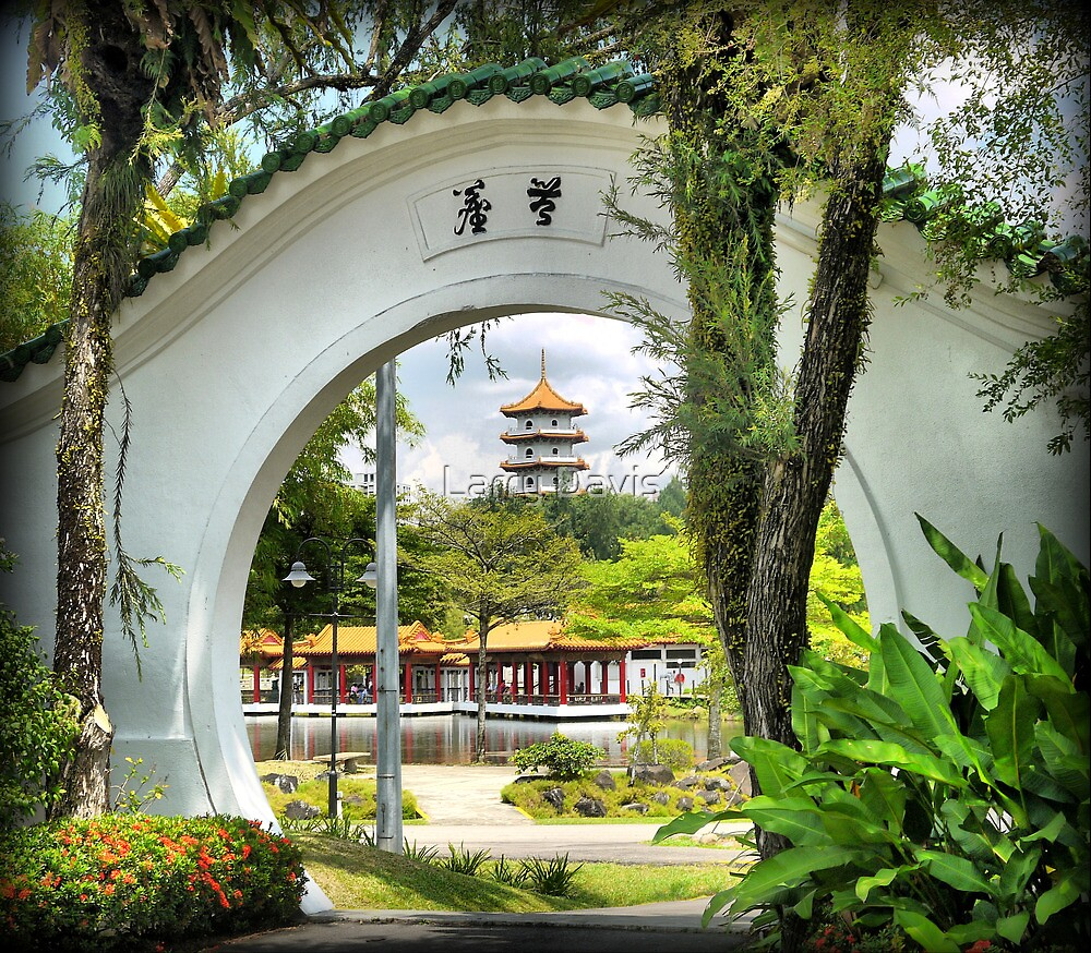 In the Garden of China (1) by Larry Lingard-Davis