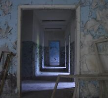 Pripyat secondary school, Chernobyl exclusion zone by Giles Thomas