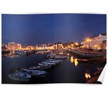 Faro At Night Poster