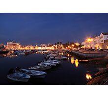 Faro At Night Photographic Print