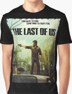 The Last of us Joel Graphic T-Shirt