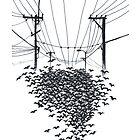 Birds by Aleksandra Kabakova