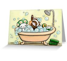Bubble Babies Greeting Card