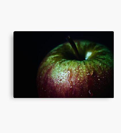 low key apple Canvas Print