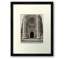 Rosary Cathedral  Framed Print