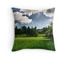 Green Envy  Throw Pillow