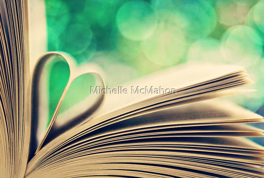 book heart.. by Michelle McMahon