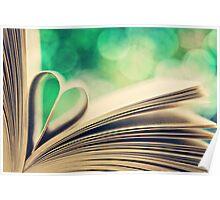 book heart.. Poster