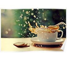 coffee splash! Poster