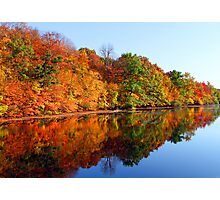 Mirrored Palette - Fall Colors Photographic Print
