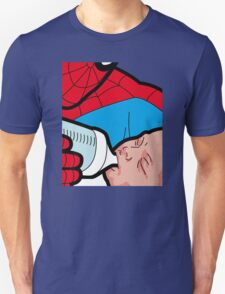 The Private Life Of A Superhero Feeding Baby T-Shirt