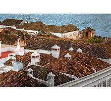 The Chimney Pots Of Faro Photographic Print