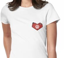 I Love My Volkswagen Womens Fitted T-Shirt