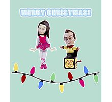 Stop Motion Christmas - Jeff/Annie (Style C) Photographic Print