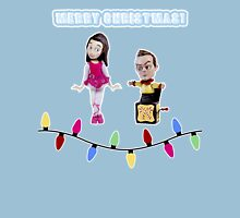 Stop Motion Christmas - Jeff/Annie (Style C) Unisex T-Shirt