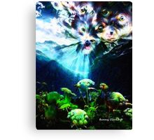 This Must Be Paradise Canvas Print