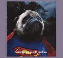 Super Pug Kids Tee