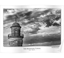 The Belvedere Tower, Lija - Malta Poster