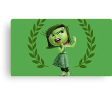 INSIDE OUT - DISGUST 02 Canvas Print