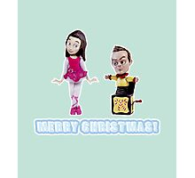 Stop Motion Christmas - Jeff/Annie (Style D) Photographic Print