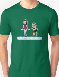 Stop Motion Christmas - Jeff/Annie (Style D) Unisex T-Shirt