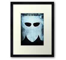 What is it  Framed Print