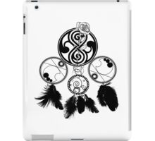 Gallifreyan Dream Catcher iPad Case/Skin