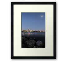Sunset @ Mill Point, Perth Framed Print