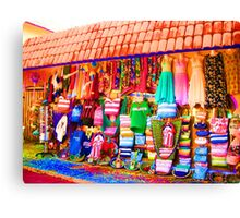 Psychedelic Clothes Canvas Print