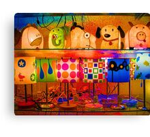 Psychedelic Lamps Canvas Print