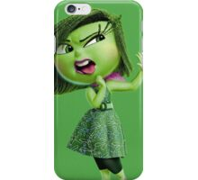 INSIDE OUT - DISGUST 02 iPhone Case/Skin