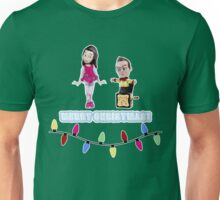Stop Motion Christmas - Jeff/Annie (Style E) Unisex T-Shirt