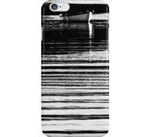 Barque en lignes iPhone Case/Skin