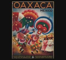 Vintage poster - Mexico One Piece - Short Sleeve