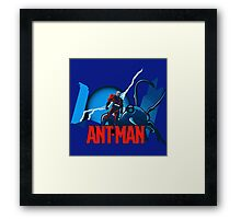 Funny Antman Framed Print