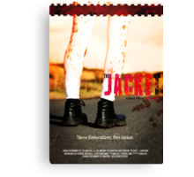 The Jacket - Poster Canvas Print
