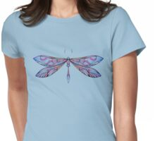 dragonfly in dark shades Womens Fitted T-Shirt